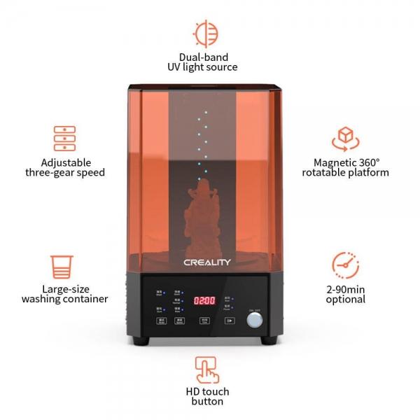 Creality UW-01 Wasch- und Härtungsmaschine