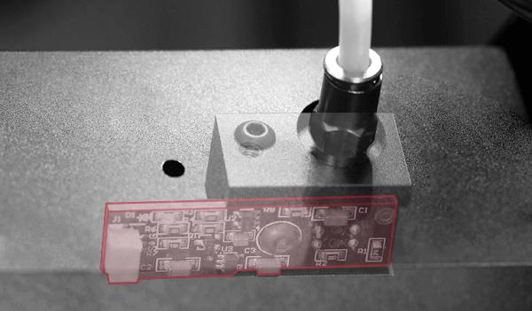 Filamentsensor des Raise3D E2