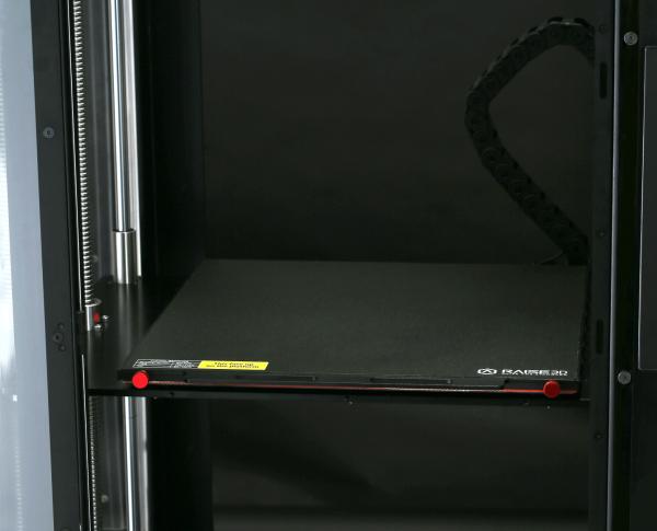 Druckbett des Raise3D Pro2 Plus