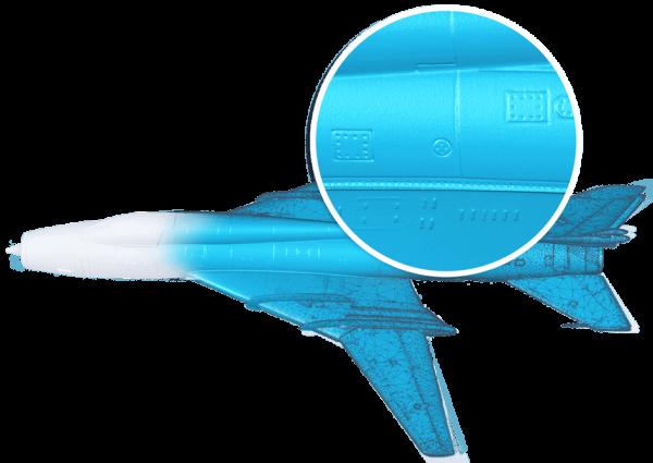 Von Shining 3D EinScan gescanntes 3D-Model