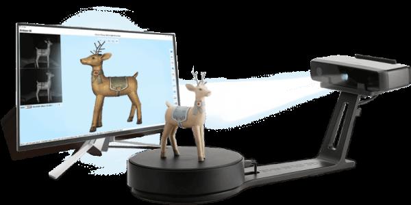 Shining 3D EinScan-SE 3D Scanner mit Drehteller und Software