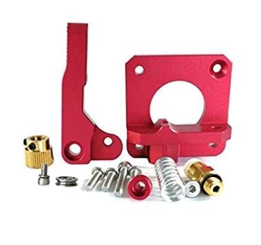 MK8 / CR10 Red Metal Extruder Kit