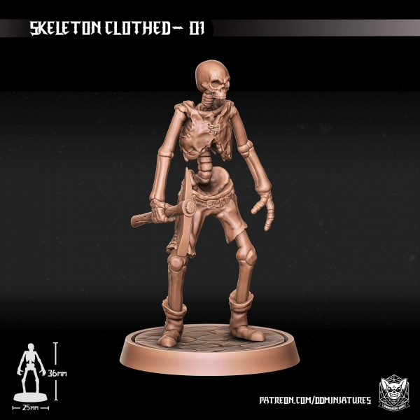 Tabletop Skeletons by Dungeon Dog