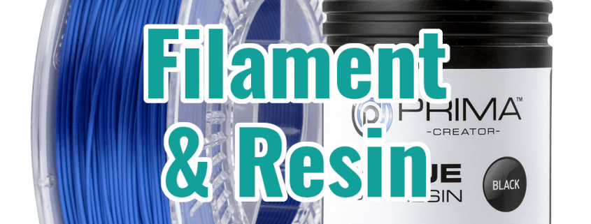 Filament & Resin für 3D-Drucker